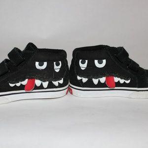 Toddler Vans Sk8-Mid Reissue V Monster Face shoes
